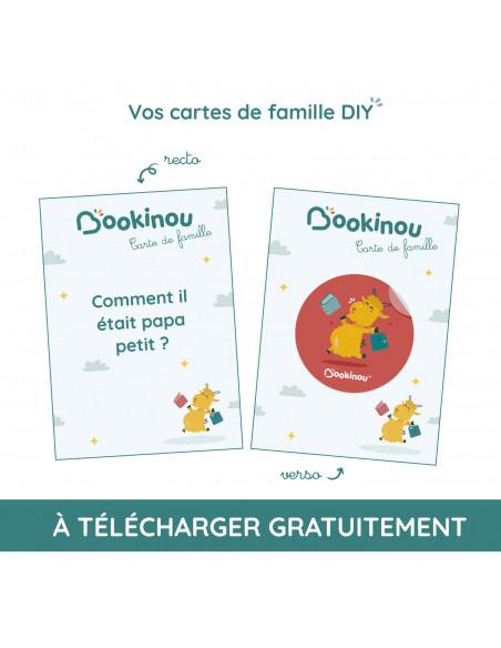 Cartes des familles Bookinou à personnaliser