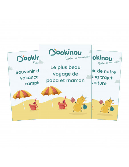 Cartes des familles Bookinou DIY