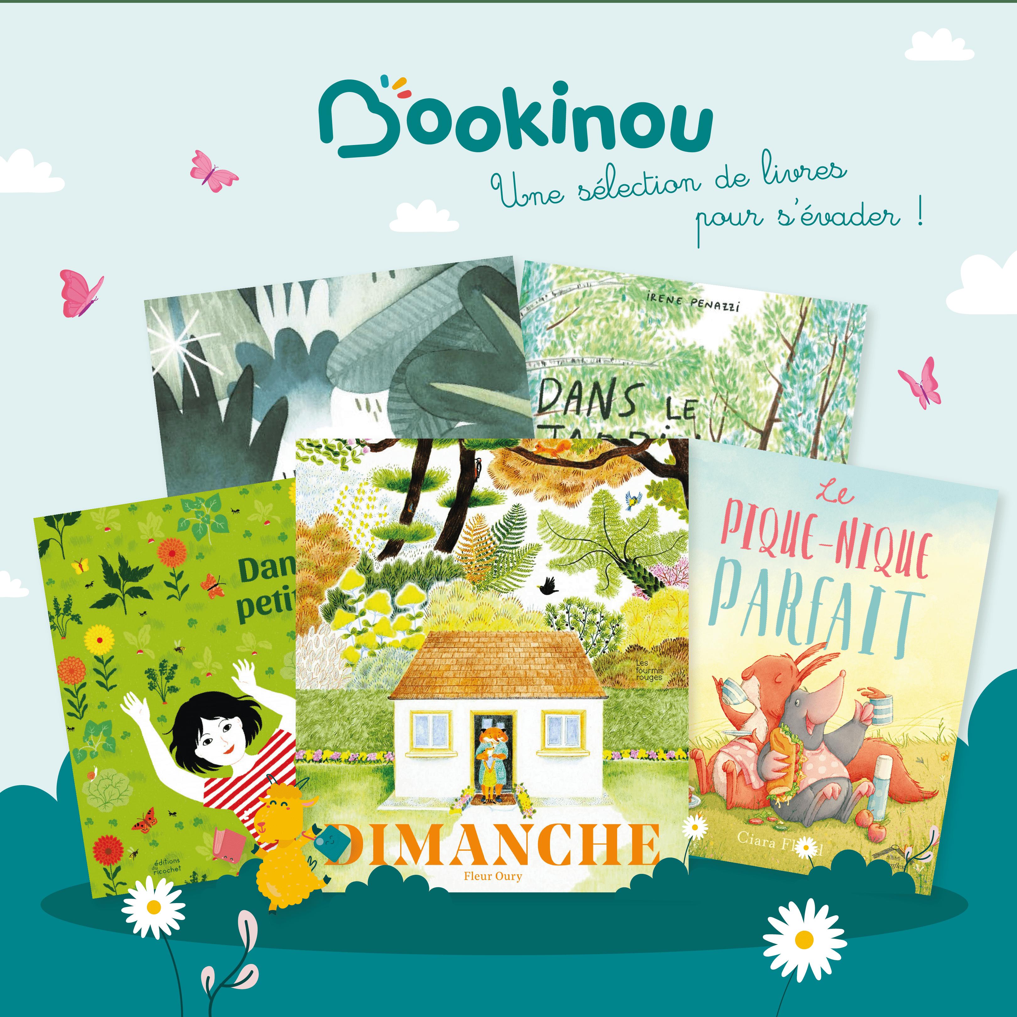 Sélection de livres pour enfants sur le thème du jardin