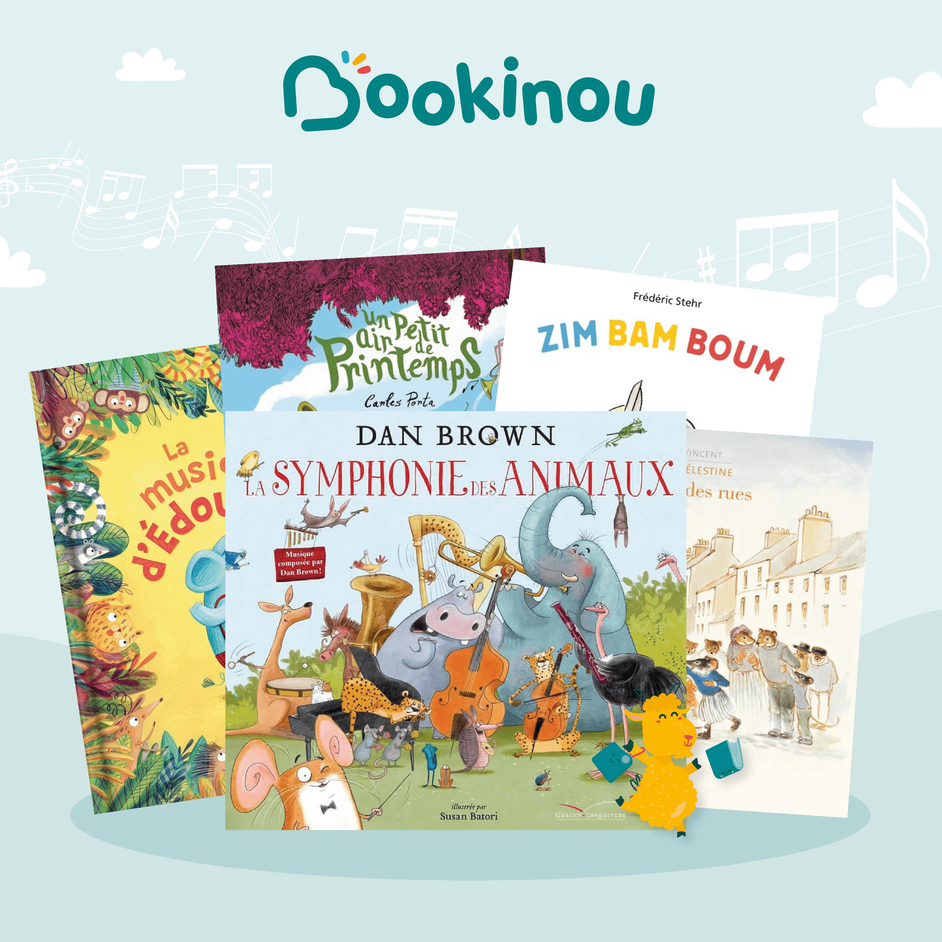 5 livres pour enfants sur le thème de la musique et des instrument