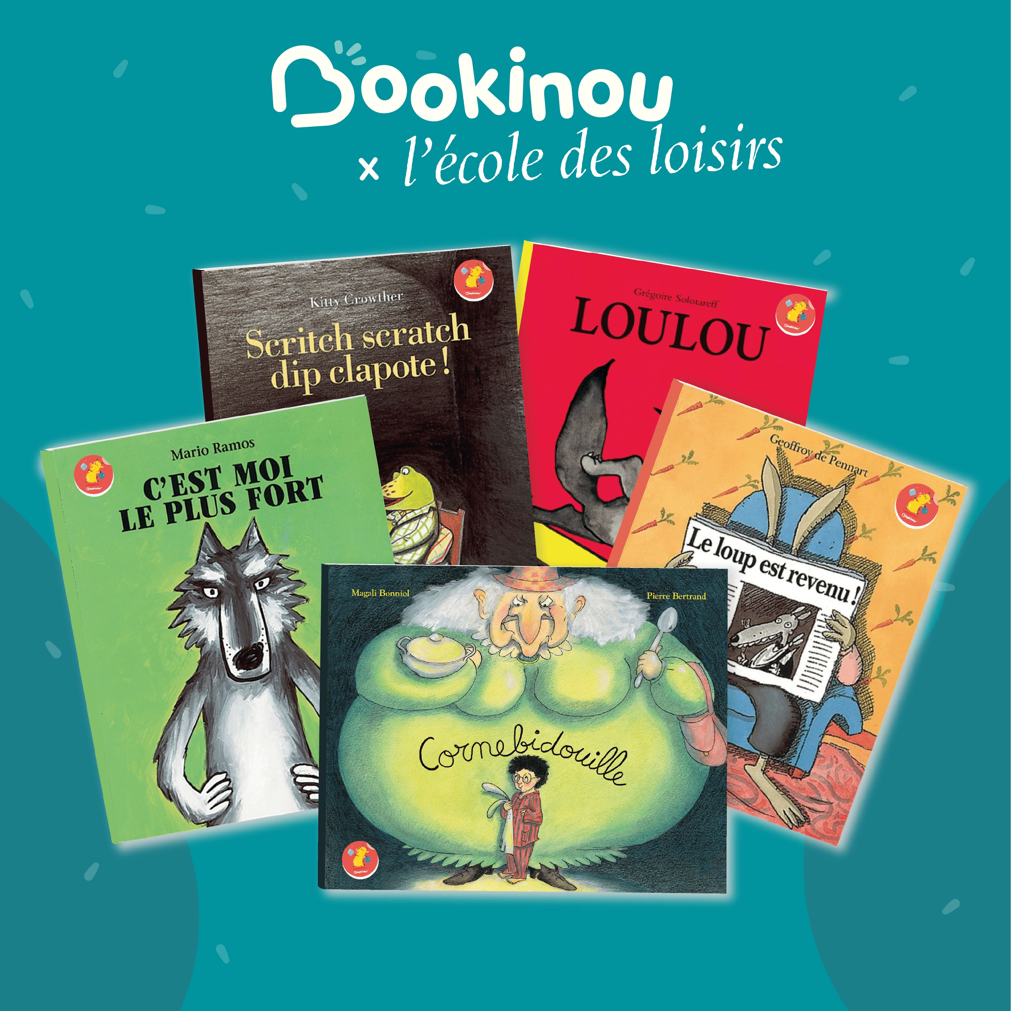 Même pas peur ! Une sélection de livres pour enfants de l'école des loisirs sur Bookinou