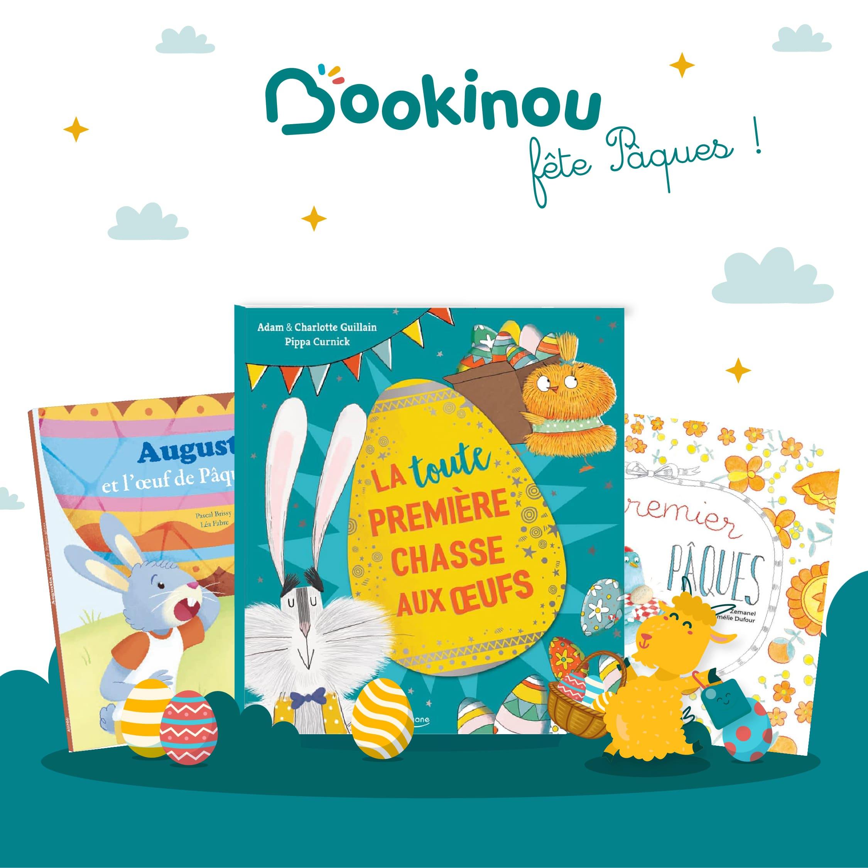 5 livres pour enfants sur le thème de Pâques et de la chasse aux oeufs
