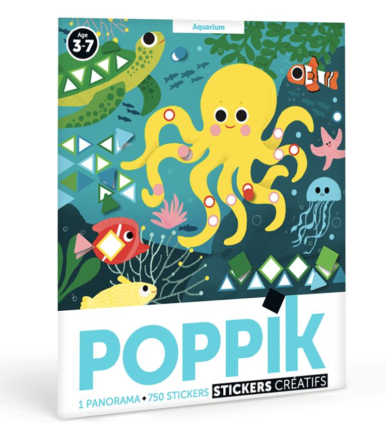 Posters créatifs Poppik, un cadeau pour un enfant de 4 ans
