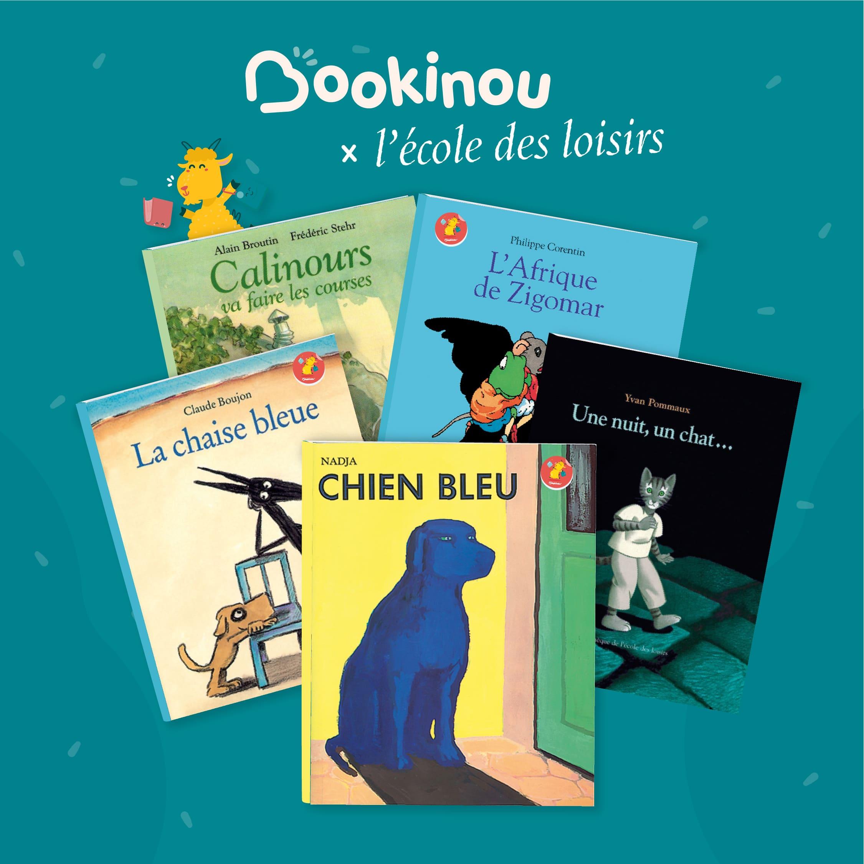À l'aventure, 5 livres pour enfants par l'école des loisirs à découvrir sur Bookinou